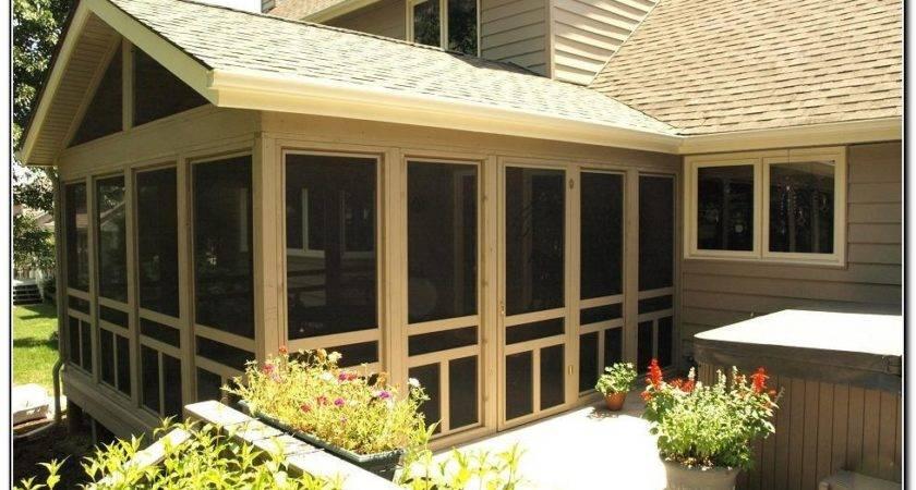 Enclosed Porch Ideas Karenefoley Chimney Ever