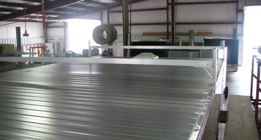 Enclosed Trailer Galvanized Steel Roofing Linear Foot