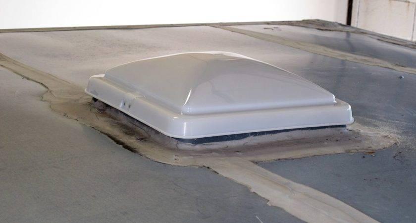 Enclosed Trailer Roof Vent Smalltowndjs