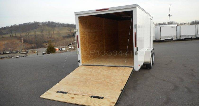 Enclosed Trailer Sale Motorcycle Cargo
