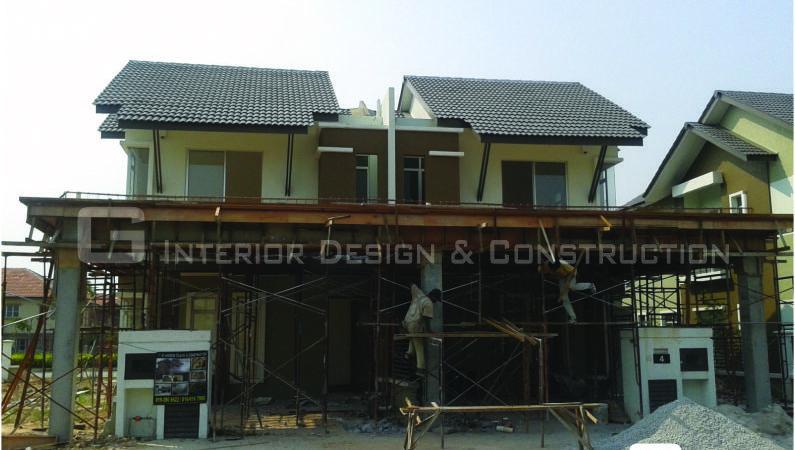 Extension Kitchen Car Porch Aman Perdana Klang