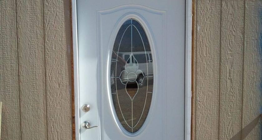 Exterior Door Mobile Home Steel Fan