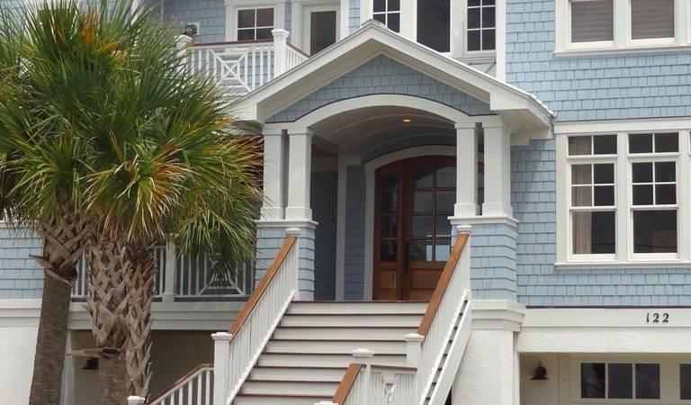 Exterior Paint Colors Beach Cottage Beautiful Homes