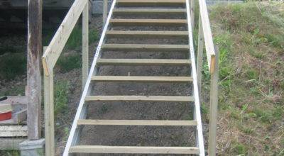 Exterior Stair Stringers Fast Stairs