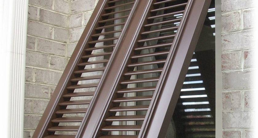 Exterior Window Shutters Decorating Architecture