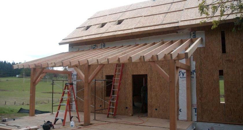 Eye Orcas Building Timber Frame Homestead