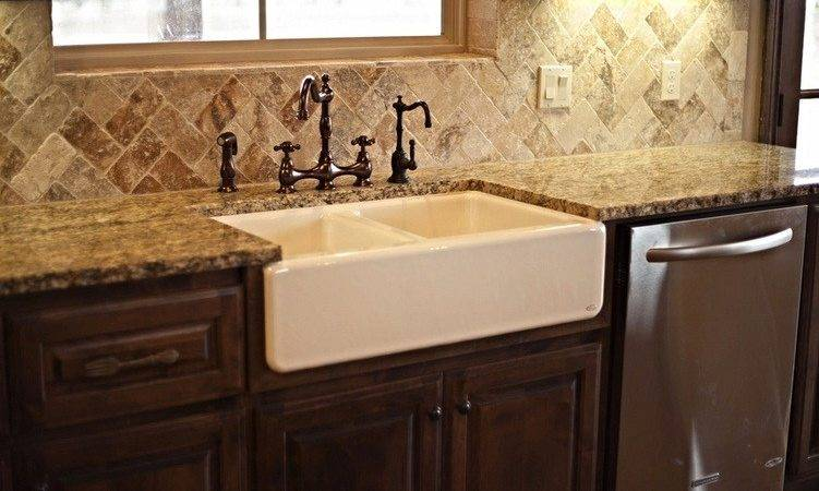 Farmhouse Sink Backsplash Kitchen Sinks