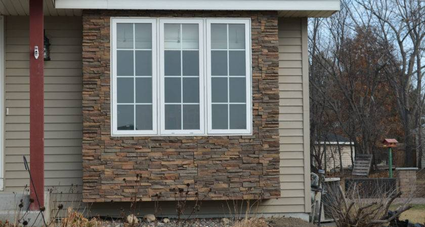 Fascinating Faux Stone Siding Wall Decorating Ideas