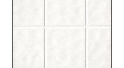 Fashionwall White Ceramic Style Tile