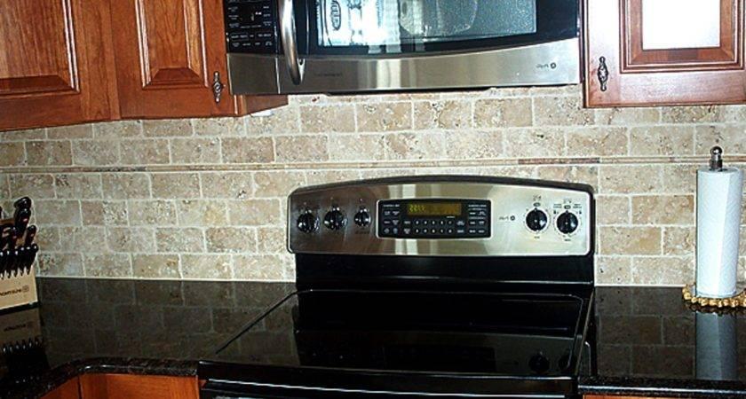 Faux Brick Backsplash Kitchen Kenangorgun