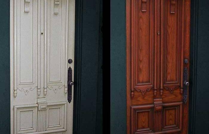 Faux Door Wood Painting Garage Doors