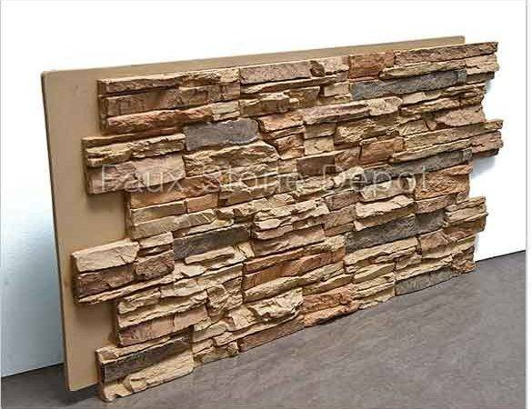 Faux Stone Panels Brick Stacked Veneer Siding