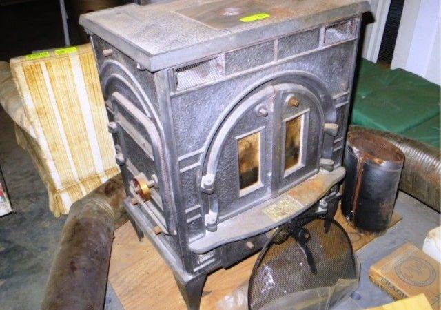Federal Airtight Wood Stove Hibid Auctions Newyork