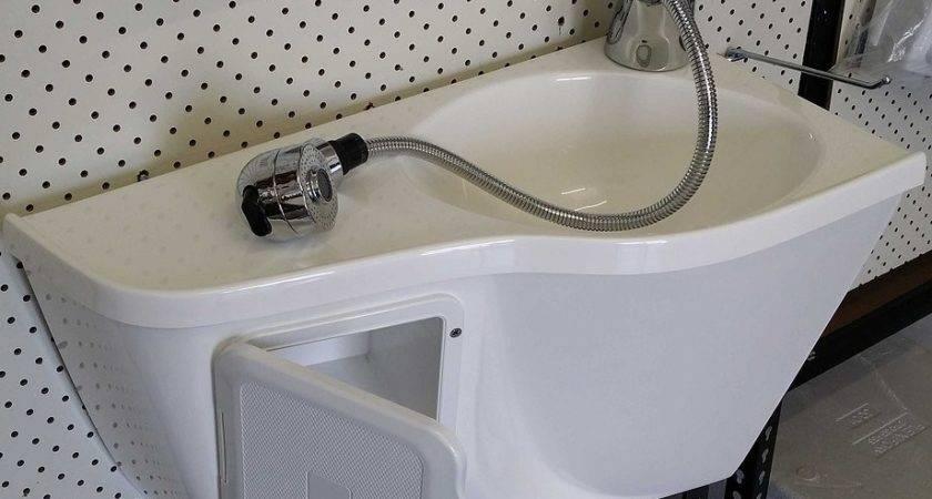 Fibreglass Corner Sink