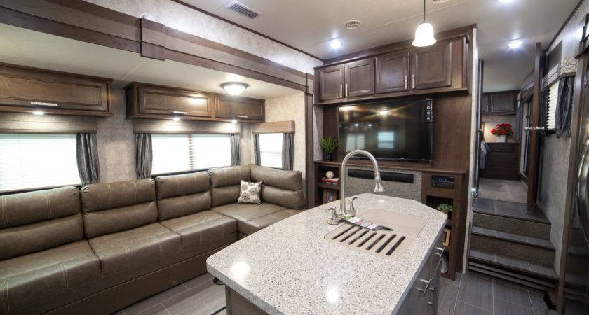 Fifth Wheel Campers Front Living Rooms Roy Home Design