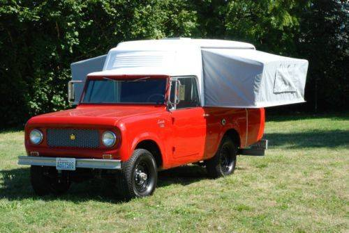 Find Used Scout Camper Warn Overdrive