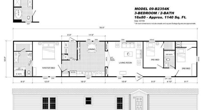 Fleetwood Manufactured Home Floor Plans