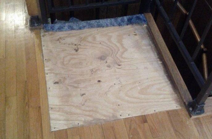 Floor Level Drain Thinset Laminate