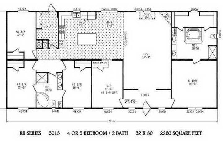 Floor Planning Double Wide Trailers Mobile Homes Ideas