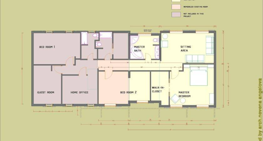 Floor Plans Designed Nevena Angelova Home Addition