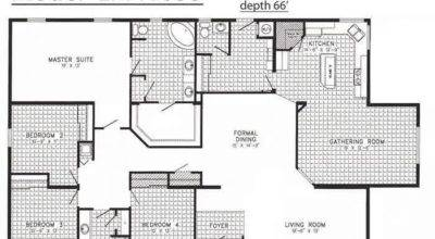 Floor Plans Mobile Homes Triple Wide Bestofhouse