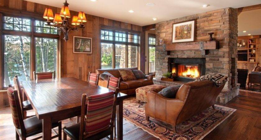 Flooring Options Living Room Rustic Decor