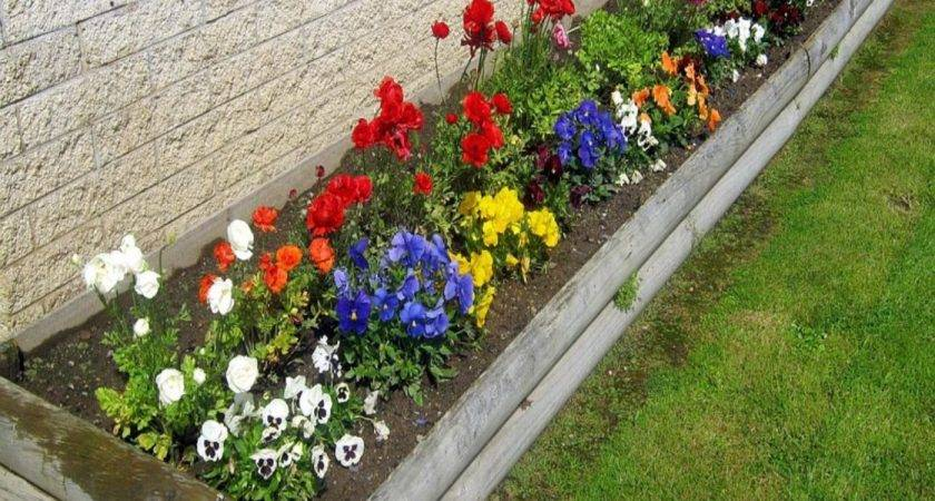Flower Bed Ideas Small Excellent Idea Garden Brilliant