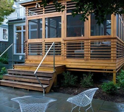 Freestanding Porch Ideas Remodel Decor