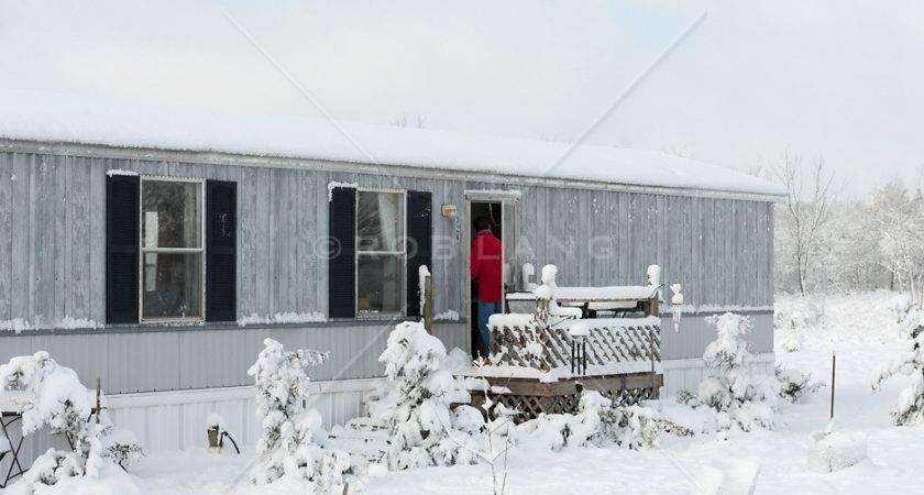 Fresh Snow Fall Mobile Home South Carolina Rob