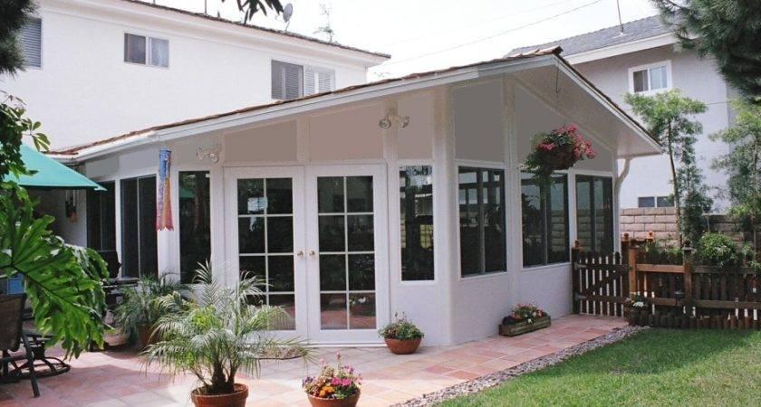 Front Porch Enclosure Idea Screen Room