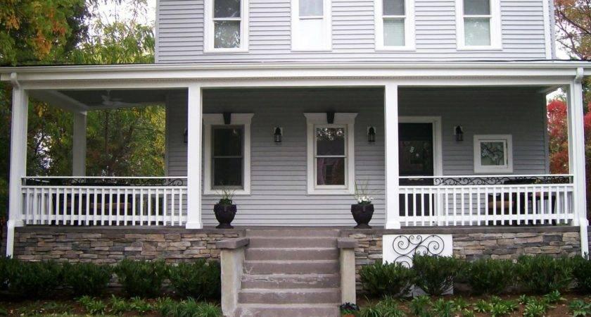 Front Porch Railing Ideas Cheap Joy Studio Design