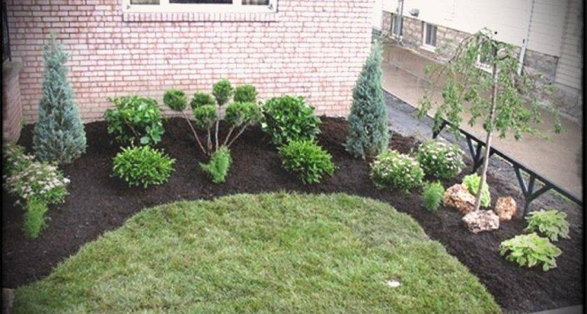 Front Yard Cheap Landscaping Ideas Easy Patio