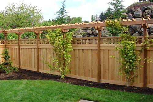 Front Yard Fence Ideas Privacy Romantichomedesign