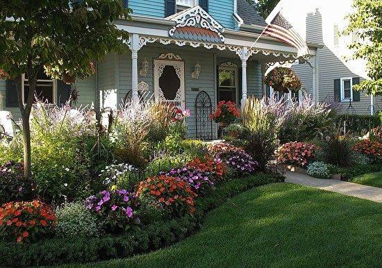 Front Yard Flower Bed Designs
