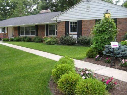 Front Yard Landscaping Ideas Network Ranch