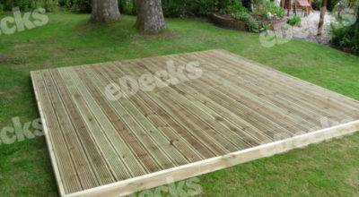 Garden Decking Kit Easy Deck Handrails