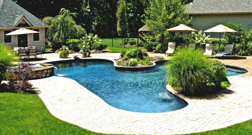 Garden Design Landscaping Ideas Pool Area