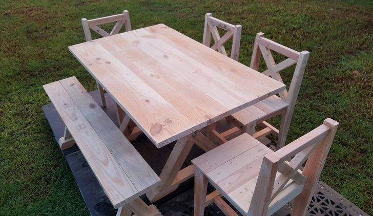 Garden Furniture Out Wood Pallets Pallet Ideas