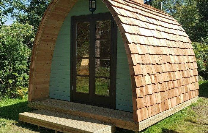 Garden Sheds Add Whimsical Touch Back Yard