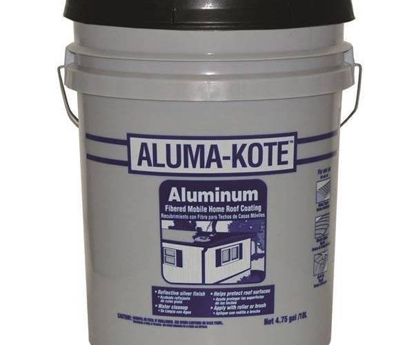 Gardner Aluma Kote Fibered Mobile Home Roof Coating