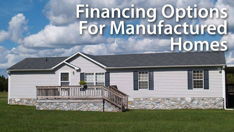 Getting Mortgage Loan Manufactured Home