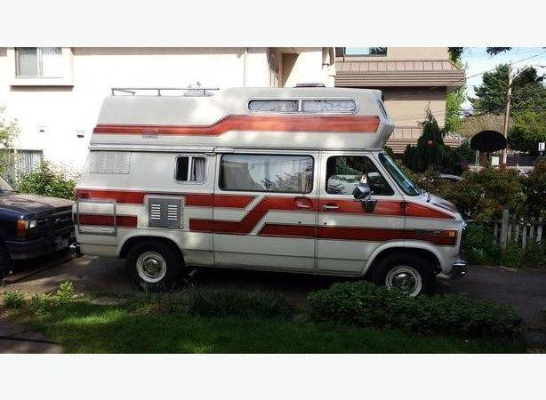 Gmc Camper Van Redone Inside Victoria City