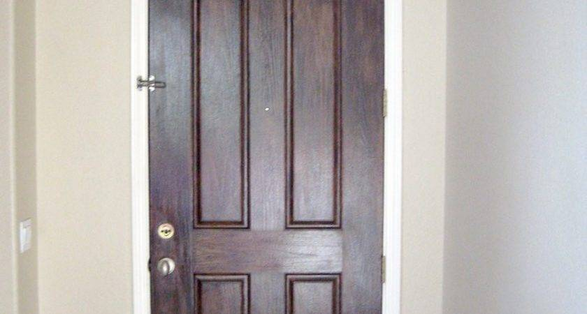 Good Faux Wood Interior Doors After Finished Inside
