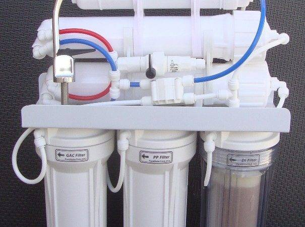 Gpd Dual Reverse Osmosis Water System Faucet
