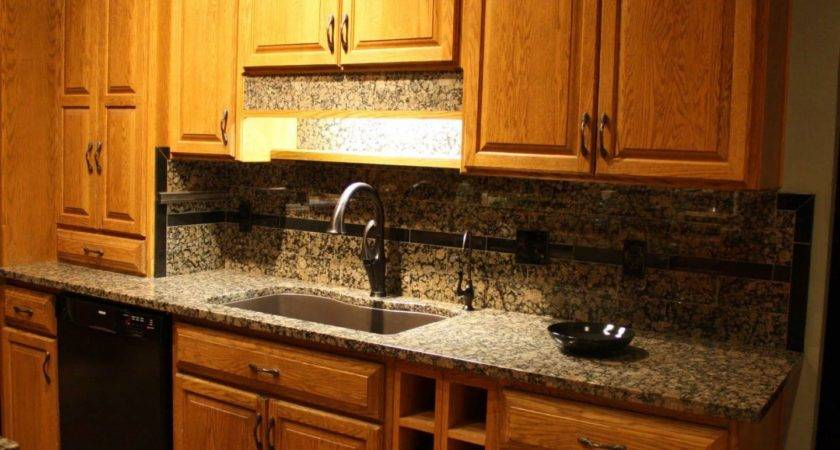 Granite Countertop Painted Shaker Kitchen