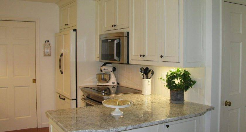 Granite Countertops White Kitchen Shining Home Design