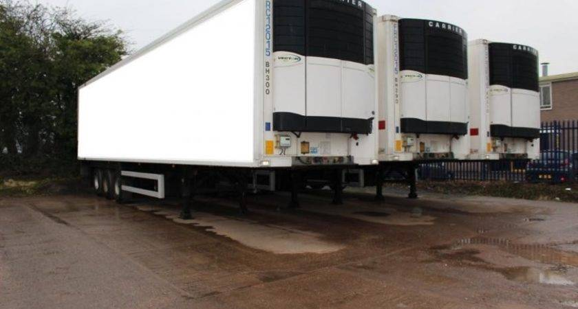 Gray Adams Tri Axle Refridgerated Trailer