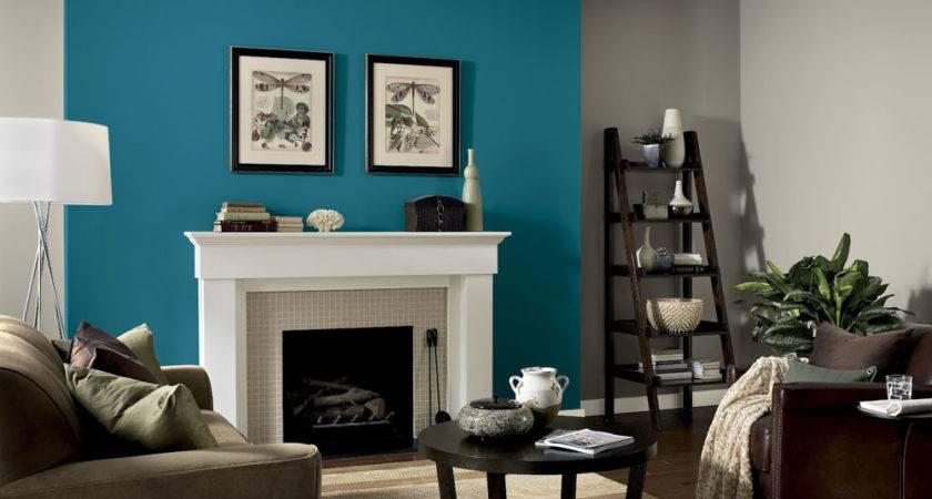 Gray Blues Living Room Pinterest Accent Walls