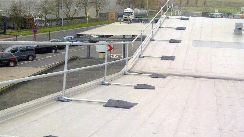 Guardrail Toeboard Guardrailing