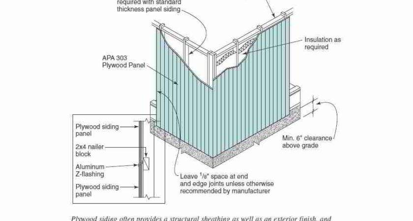 Guide Installing Wood Wall Siding